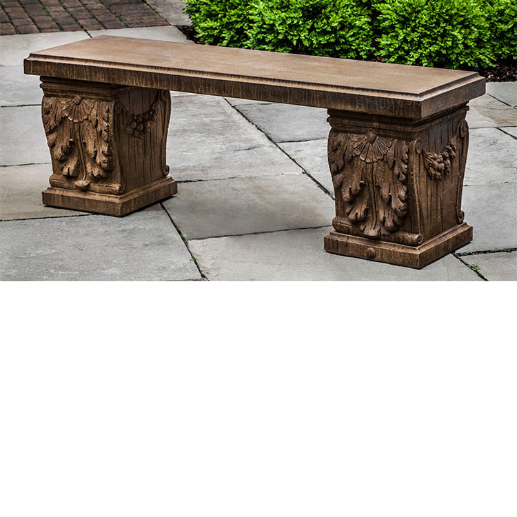 Campania International Williamsburg Manor House Bench