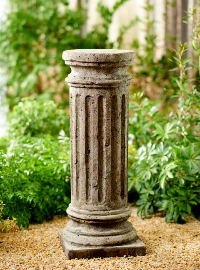Unique Stone Doric Column Pedestal