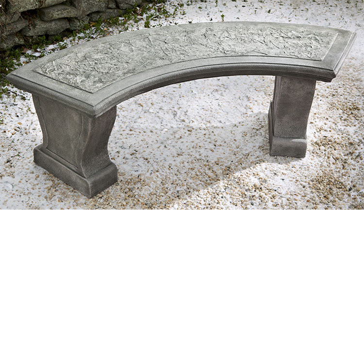 Campania International Leaf Curved Bench