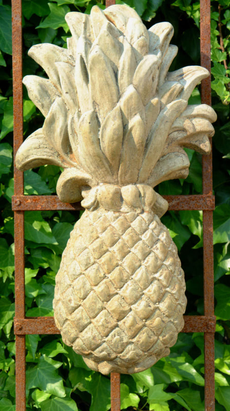 Unique Stone Pineapple Plaque