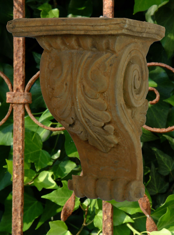 Unique Stone Single Acanthus Corbel