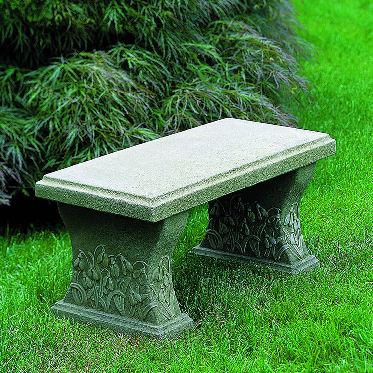 Campania International Snowdrop Bench