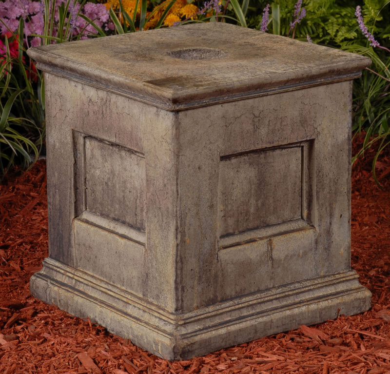 Unique Stone Estate Panel Pedestal