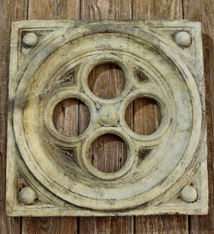 Unique Stone Industrial Wall Plaque