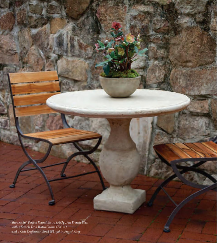 Elegant Earth Perfect Round Top Bistro Table