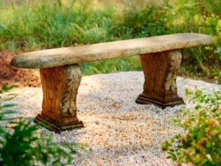 Unique Stone - Penn Plantation Bench