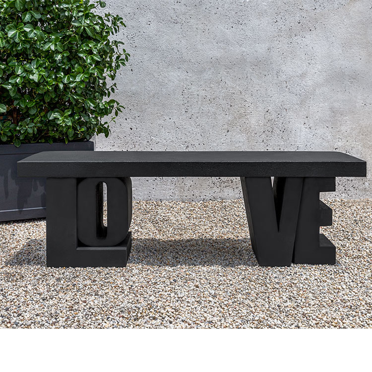Campania International Love Bench