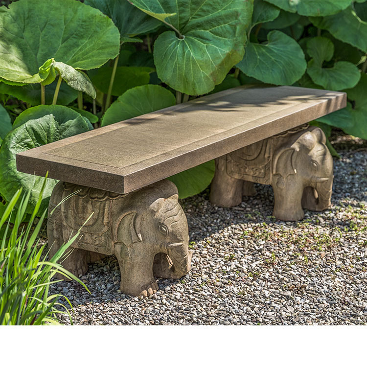 Campania International Elephant Bench