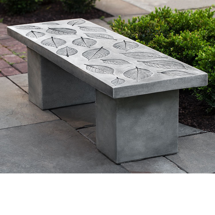 Campania International Hydrangea Leaf Bench